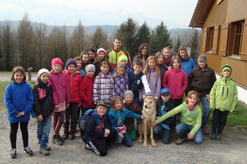 Kinder- und Jugendtierschutzgruppe erlebte den Wald mit Hirn-Herz-Hand