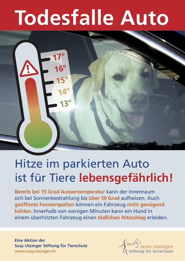 Achtung: Ueberhitzungsgefahr!