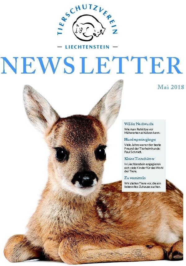 Newsletter - Ausgabe Mai 18